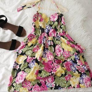 Vintage Bombshell Inspired Halter Dress